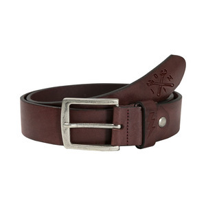 Belt John Doe Signature leather brown