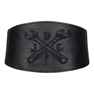 Cintura moto per schiena John Doe Classical pelle nero