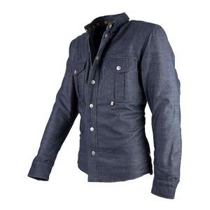 Camicia moto By City Suv jeans blu