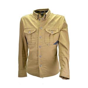 Camicia moto By City Suv beige