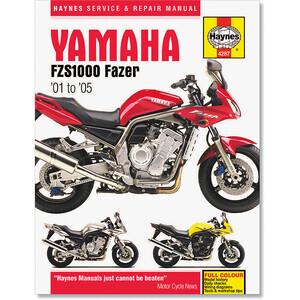 Manuale di officina per Yamaha FZS 1000 '02-'05