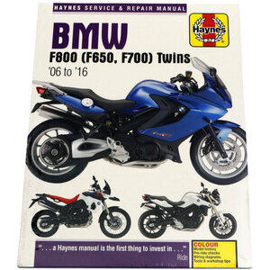 Manuale di officina per BMW F 800 '06-'16