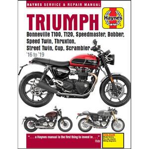 Manuale di officina per Triumph Bonneville '16-'18