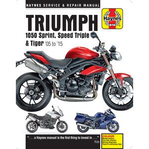 Manuale di officina per Triumph 1050 '05-'15