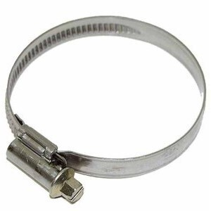 Carburetor joint clamp hose 32-50mm stainless steel