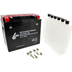 Batteria di accensione JMT YTX20L-BS 12V-18Ah