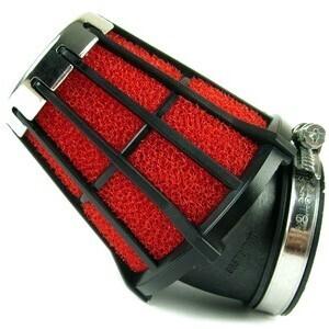 Filtro a trombetta 52x76mm conico angolato Malossi