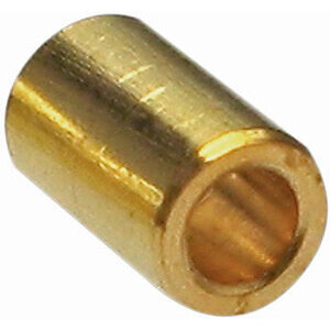 Cable locking nipple to weld throttle 3x4mm brass