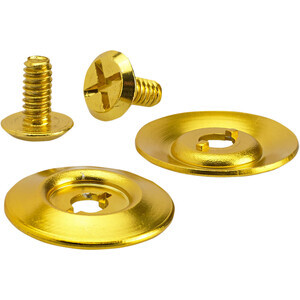 Biltwell helmet spare shield mounting pair gold