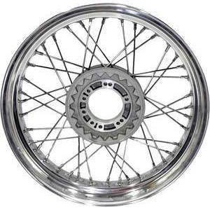 Complete spoke wheel 18''x1.85