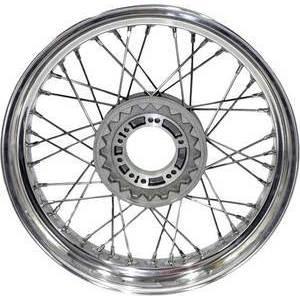 Complete spoke wheel 18''x2.15