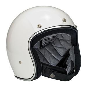 Casco moto aperto Biltwell Bonanza bianco