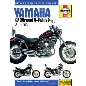 Manuale di officina per Yamaha XV '81-'03
