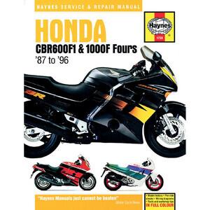 Manuale di officina per Honda CBR 600-1000 '87-'96