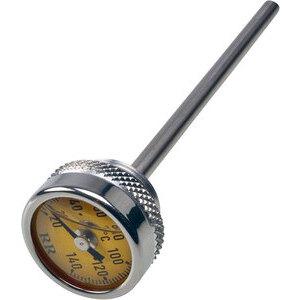 Termometro olio M24x1.5 lunghezza 130mm fondo giallo