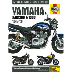 Manuale di officina per Yamaha XJR 1200-1300 -'06