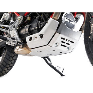 Paramotore per Moto Guzzi V 85 TT coppa olio grigio