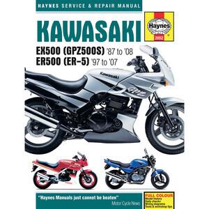 Manuale di officina per Kawasaki GPZ 500 S