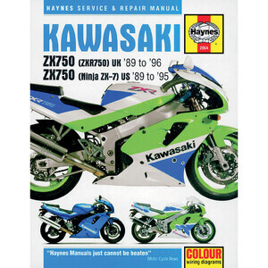 Manuale di officina per Kawasaki ZXR 750