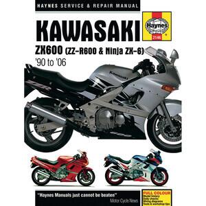 Manuale di officina per Kawasaki ZZR 600