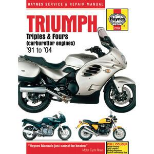 Manuale di officina per Triumph -'04