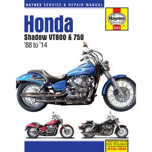 Manuale di officina per Honda VT 600-750