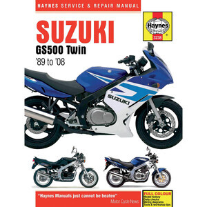 Manuale di officina per Suzuki GS 500 E '89-