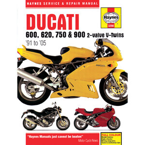 Manuale di officina per Ducati 600-900 -'01