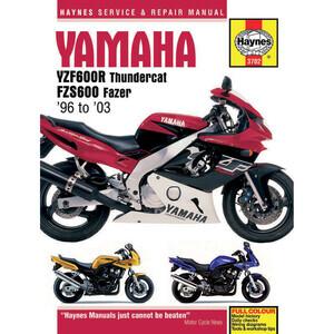 Manuale di officina per Yamaha FZS 600