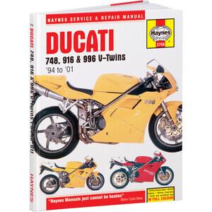 Manuale di officina per Ducati 748-996 -'01