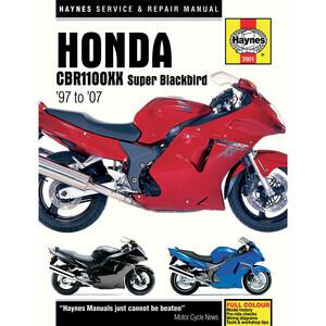 Manuale di officina per Honda CBR 1100 XX