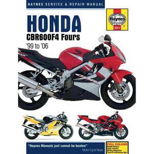 Manuale di officina per Honda CBR 600 F '99-'06