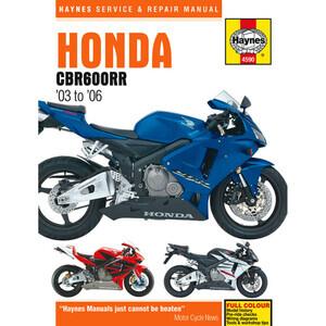 Manuale di officina per Honda CBR 600 RR -'06