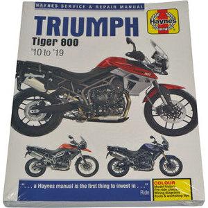 Manuale di officina per Triumph Tiger 800