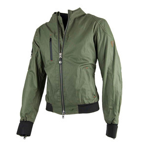 Motorcycle jacket By City Sport green