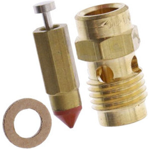 Carburetor needle valve and seat Dell'Orto PHBE, PHBH, PHF, PHM and VHSB n.150