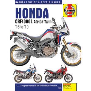 Manuale di officina per Honda CRF 1000 Africa Twin