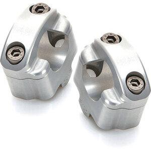 Handlebar risers Yamaha FZ6 600 handlebar 28.5mm LSL +25mm grey pair