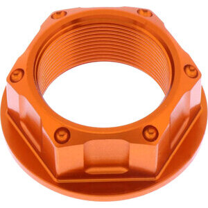 Steering head nut M25x1 alloy JMP orange