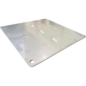 License plate base modern motorcycles stainless
