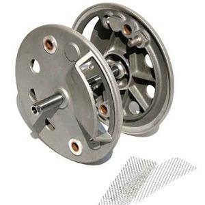 Drum brake plates Grimeca 230mm pair