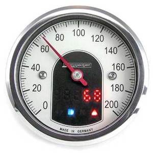 Contachilometri elettronico Motogadget Motoscope Tiny lucido