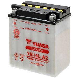 Batteria di accensione Yuasa YB14L-A2 12V-14Ah