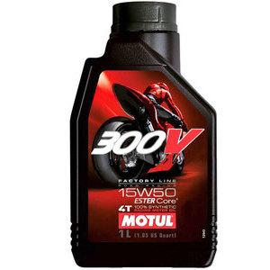 Olio motore 4T Motul 15W-50 300V Road Racing 1lt