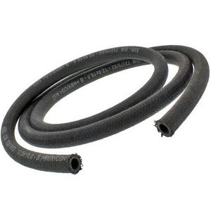 Fuel hose 11x17mm braided cotton