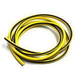 Cavo candela 7mm siliconato giallo/nero