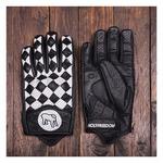 Motorcycle gloves Holy Freedom Bullit black/white
