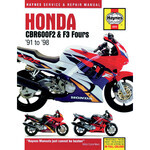 Workshop manual Honda CBR 600 F '91-'98