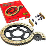 Chain and sprockets kit Honda NX 650 Dominator '95- Regina